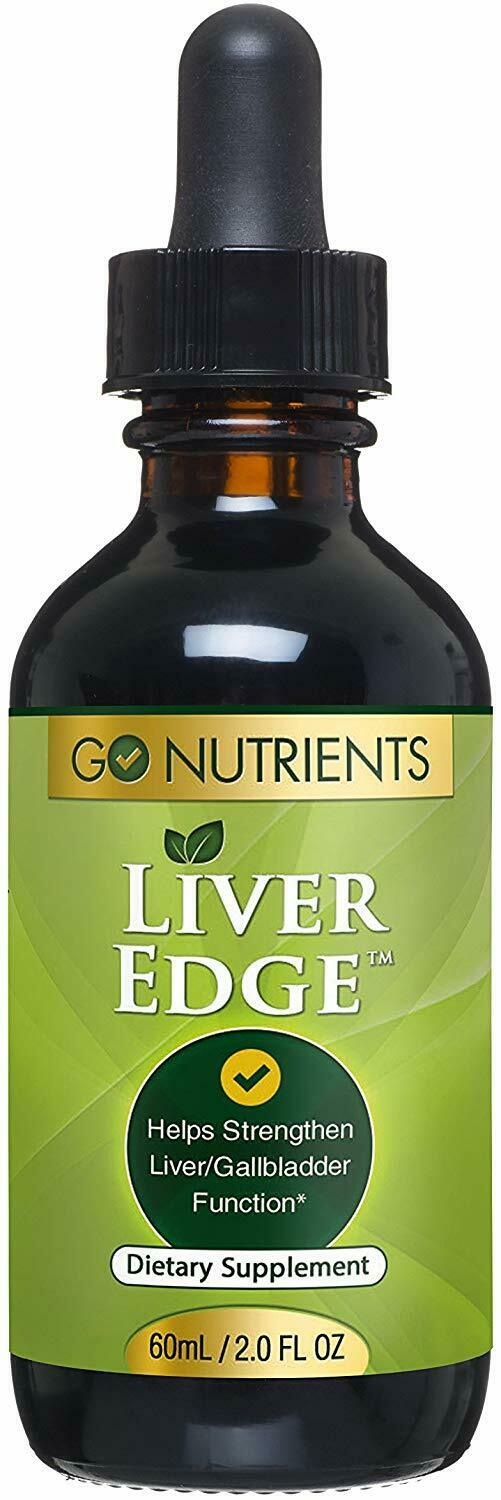 Liver Edge - Cleanse & Detox Liquid Drops with Milk Thistle,