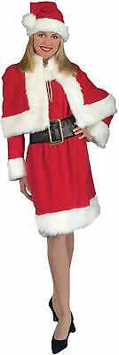 Mrs Claus Dress Up (Miss Santa Claus Mrs Christmas Holiday Fancy Dress Up Halloween Adult)
