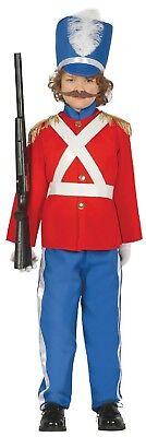 Jungen Roten Dose Spielzeug Soldat Nussknacker Weihnachten Kostüm Kleid Outfit