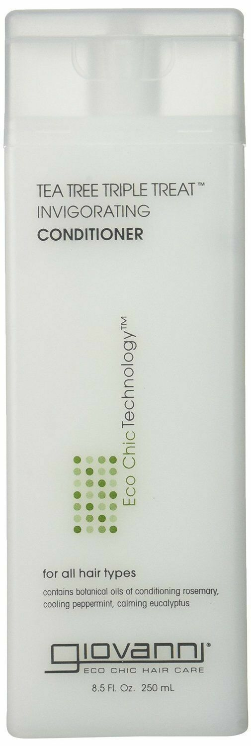 Giovanni Invigorating Conditioner, Tea Tree Triple Treat, 8.