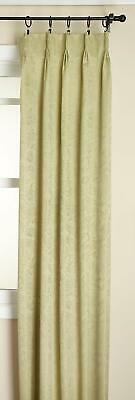 Gabrielle Pinch Pleated Energy Efficient Curtain Panel Pair 48X84 for sale  Melbourne