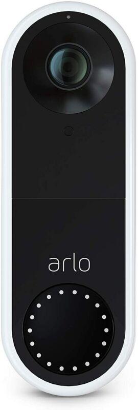 Arlo AVD1001-100NAR Essential HD Video Wi-Fi  Doorbell  Certified Refurbished