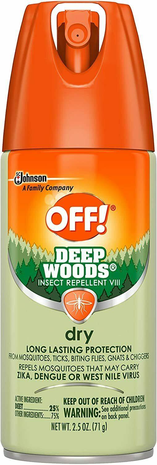 Deep Woods Insect & Mosquito Repellent Long lasting Dry Aero