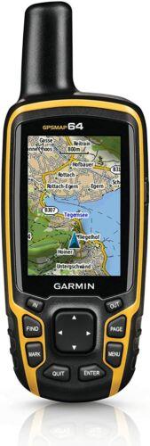 Garmin GPSMAP 64 Worldwide with High-Sensitivity GPS & GLONASS 010-01199-00