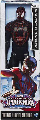 Official Marvel Spiderman Black Suite Avengers Titan Hero Figure Gift Toy Kids