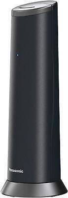 Panasonic KX-TGK210 Teléfono Fijo inalámbrico de Diseño LCD Agenda Modo ECO Negr