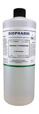 Sodium Hydroxide 0.100 Normal Quart 950 Ml