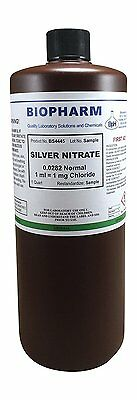 Silver Nitrate 0.0282 Normal Standard Solution 1ml 1mg Chloride For Chloride..