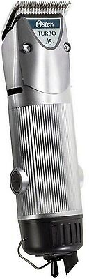 New Silver Oster Turbo A5 2-Speed Professional Animal Dog