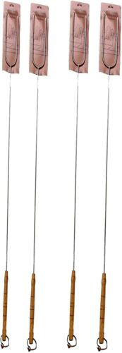 """Extra Long 41"""" Campfire Hot Dog & Marshmallow Roasting sticks Camp Fire Forks"""