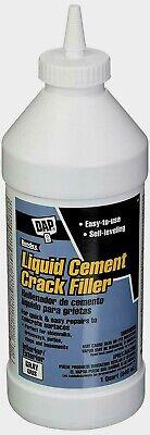 Dap Bondex LIQUID CEMENT Crack Filler Repair Driveway Steps Basement Gray -