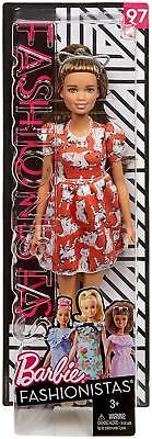 Barbie Fashionista Puppe look Miau mix Mattel FJF57 - Barbie Puppe Kostüm