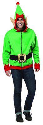 Rasta Imposta 16015-XL Grüne Elfen-Kapuzenjacke für Herren (XL) NEU - Rasta Imposta Kostüm