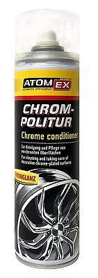 XADO ATOMEX Rim Polishing Cleaner - Chrome Conditioner (16oz (Chrome Polish 16 Oz Bottle)