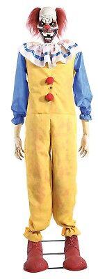 1.8m M / 6ft Animierte Lichter Ton Bewegung Twitching Clown Halloween Dekoration ()