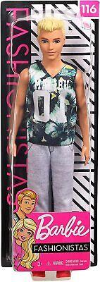 Barbie Ken Fashionista nº 116 - Mattel - NUEVA