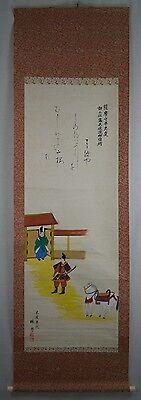 Rollbild Japan Gemälde Bild Kakemono Makuri Kakejiku Scroll Picture Asia 273