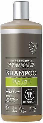 Teebaum Shampoo Bio, gereizte Kopfhaut, 500 ml