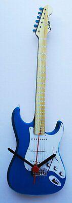 Fender Stratocaster Guitar Clock - Blue - G21
