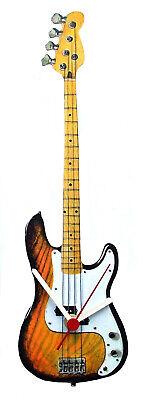 Fender Precision Bass Guitar Clock - Fender Guitars - Bass Guitars -...
