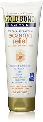 Gold Bond Ultimate Eczema Relief Skin Protectant Cream, 2% C