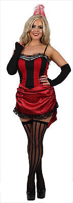 Burlesque Outfits For Women (Womens Sexy Burlesque Wild West Showgirl Can Can Fancy Dress Costume Outfit)
