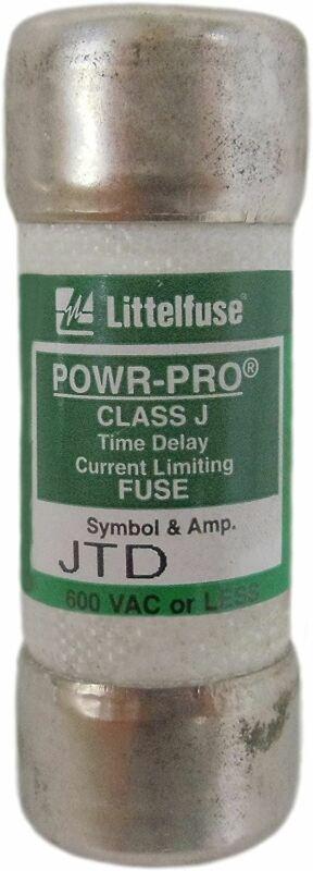 Littelfuse JTD010 JTD-10 10Amp (10A) JTD 600V Time-Delay Pack of 1 Fuses