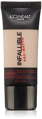 L'Oreal Infallible Pro-Matte 24Hr Foundation ~ Choose From 16 (L Oreal Infallible Pro Matte 24hr Foundation)