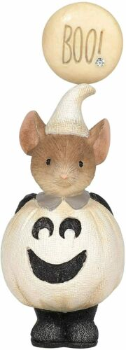 Happy Boo to You 6006556 Tails with Heart Halloween ghost mouse mice Enesco Z