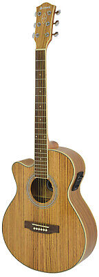 Chord N5Z-LH Native Zebrano Electro Acoustic Guitar Left Hand