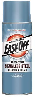 Easy-Off Professional Stainless Steel Cleaner Polish Can Grills Ovens (Polish Professional Cleaner)