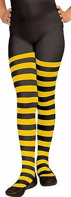 Forum Child Bumble Bee Tights, Small, Yellow/Black Halloween Costume Accessory - Bumble Bee Tights