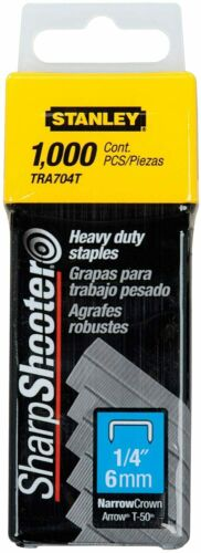 Stanley Hand Tools Tra705T 5/16 Inch Heavy Duty Staples, Pack of 1000