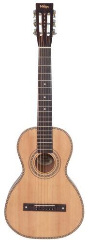 Vintage 'Viator' Travel Guitar Paul Brett Signature Series With Padded Gig Bag