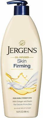 Jergens Oil Infused Skin Firming Daily Toning Moisturizer 16.8 oz NEW 2019