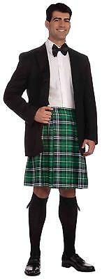 Gentleman's Kilt Plaid Irish Scottish Fancy Dress Halloween Costume Accessory