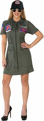 Top Gun Maverick Dress Military Costume Army Green - Maverick Top Gun Kostüme