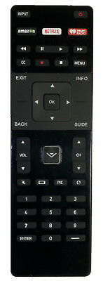 New Vizio XRT122 (XRT112 New Version) Replacement Remote Amazon/Netflix/IHeart