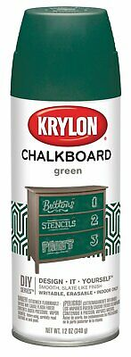 Krylon Chalkboard Surface Spray Paint 12 Ounce Green I00806007 - Green Chalkboard Paint