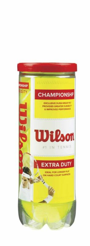 Wilson® Championship Extra-Duty Tennis Balls - Can of 3