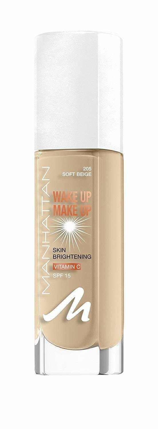 Manhattan Wake Up Foundation, 305, Sand, 30 ml