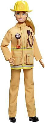 Barbie Career Firefighter 60th Anniversary Doll GFX29