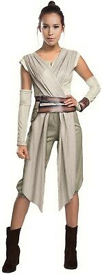 Ladies Deluxe Rey Star Wars TV Book Film Halloween Fancy Dress Costume Outfit