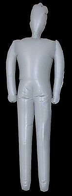 Life Size Male INFLATABLE MANNEQUIN DISPLAY DUMMY Halloween Costume Prop Man-6ft - Life Size Dummy