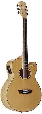 Washburn EA20 Festival Series Electro Acoustic Guitar Natural SALE!