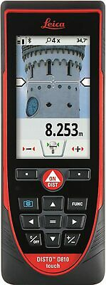 Leica Disto D810 Touch 660ft Laser Distance Measurer Wbluetooth And 1mm