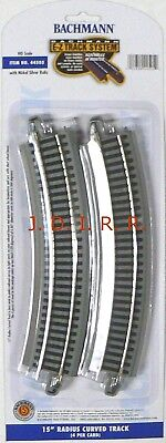 Bachmann Model Railroad - HO Scale Model Railroad Trains Bachmann Silver EZ Track 15