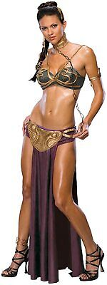 Secret Wishes Purple Sexy Princess Leia Slave Costume - Slave Leia Kostüm