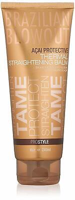 Brazilian Blowout Thermal Straightening Balm, 8 oz / 240mL - FRESH PRODUCT Thermal Hair Products