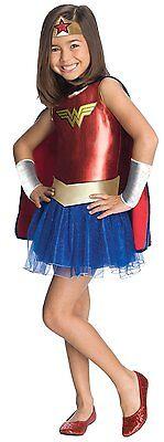 Rubies DC Comics Wonder Woman Superman Child Girls Halloween Costume - Superman Costume Girls